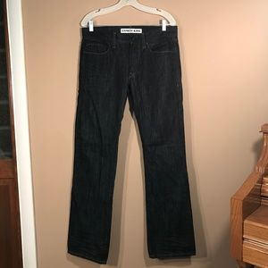Express Rocco Slim Fit Boot Cut Jeans - 32x34
